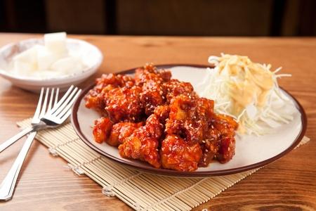 Boneless Seasoned Chicken Banque d'images - 109254989