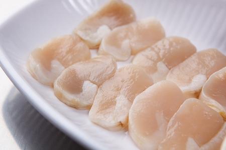 Raw shellfish