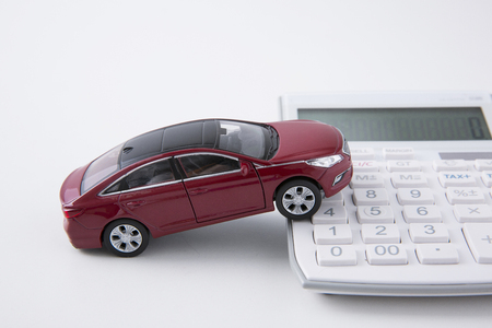 the economy related to car in miniature world 147 写真素材