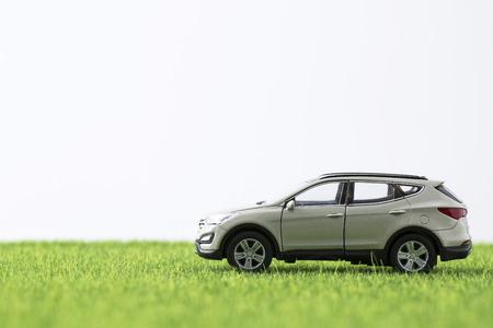economie gerelateerd aan auto in miniatuurwereld 165 Stockfoto