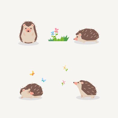 Animal icons collection vector illustration 051 Illustration