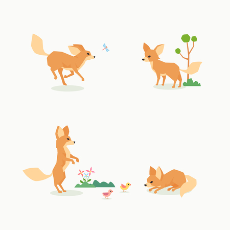 Animal icons collection vector illustration 068  イラスト・ベクター素材