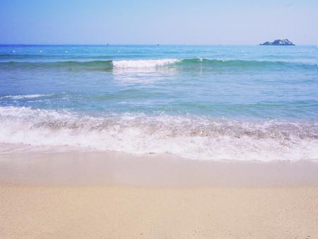 Beautiful beach and sea in Korea 04 Stock fotó