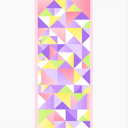 Korean traditional patchwork pattern vector illustration Imagens - 110528991