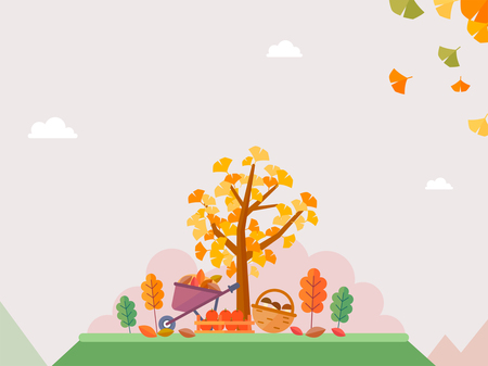 Korean ornament for blank template. banner, greeting card design vector illustration 030