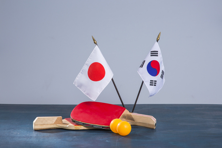 An emblem of Korea and Koreans concept, with national flag 'Taegukgi', national flower 'Rose of Sharon' and so on. 118