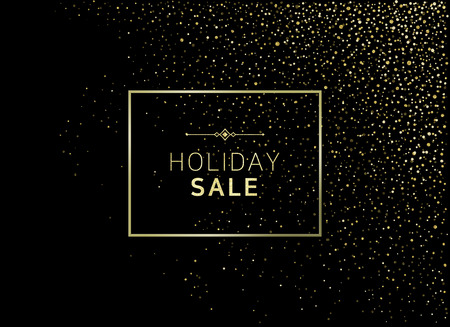 Holiday sale banner template design 10