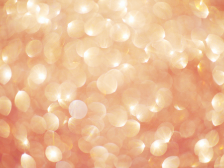 Rose gold glitter bokeh texture background 02