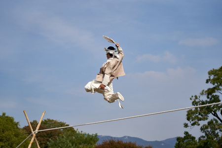 Korean Cultural Heritage - Jultagi, tightrope walking performance
