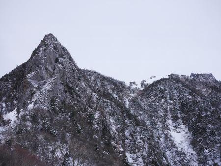 Beautiful landscape of snow-covered Mt. Halla in Jeju 1