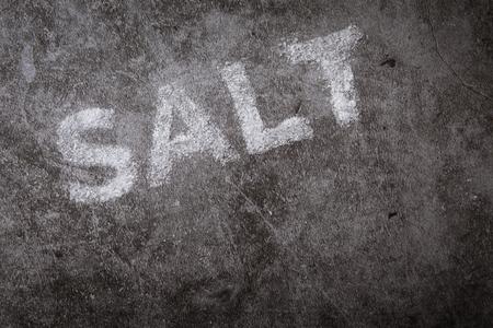 Variety of different salts - sea salt, pink himalayan salt and mountain salt Reklamní fotografie