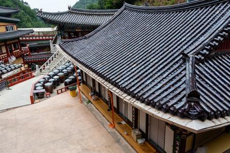 Wonju Chiaksan  Guryongsa Temple Editorial