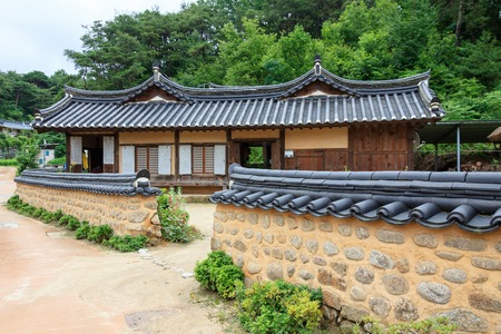 Hanok Village of Yeongju of North Gyeongsang Imagens - 120678188