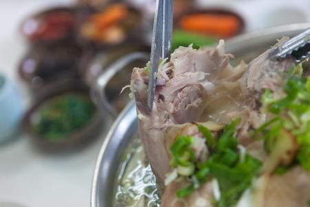 boiled chicken of oriental medicine