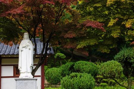 catholic Statue Baeron Holy Ground Stockfoto - 122918424