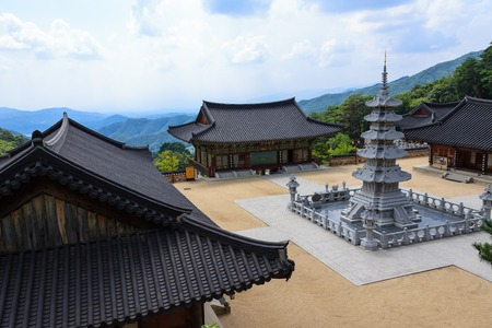 Chukseosa Temple of Bongha Buddhism