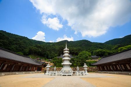 A stone pagoda of Chukseosa Temple