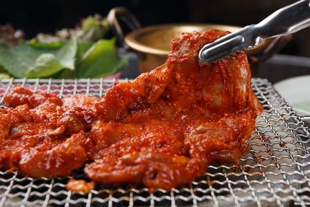 spicy stir-fried chicken with vegetables