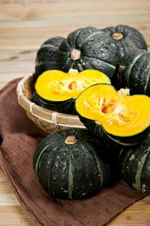steamed sweet pumpkin Stok Fotoğraf