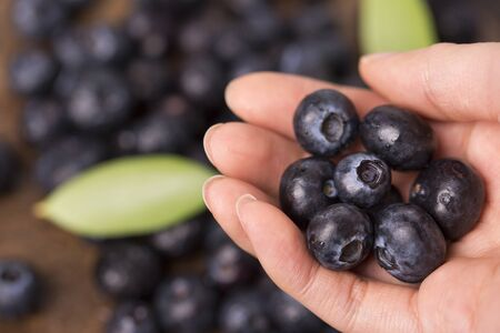 Assorted fresh berries, healthy lifestyle concept