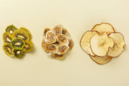 Various dried fruits, healthy lifestyle Фото со стока