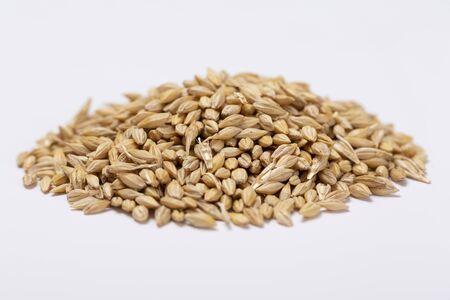 verzameling van gezond superfood, close-up van verschillende zaden