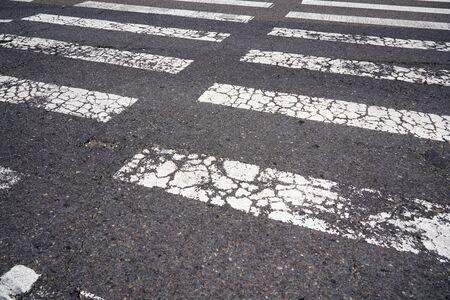 Crosswalk in downtown