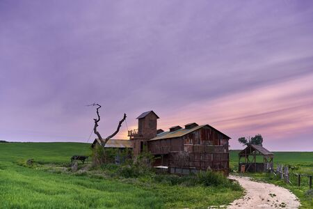 Meadow Ranch at Sunset