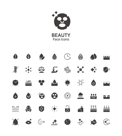 Modern thin line flat design icons set for website and app design 098