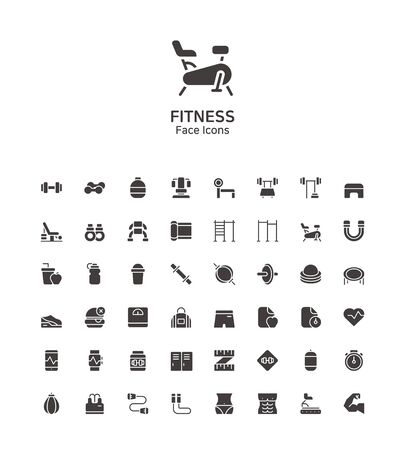 Modern thin line flat design icons set for website and app design 100