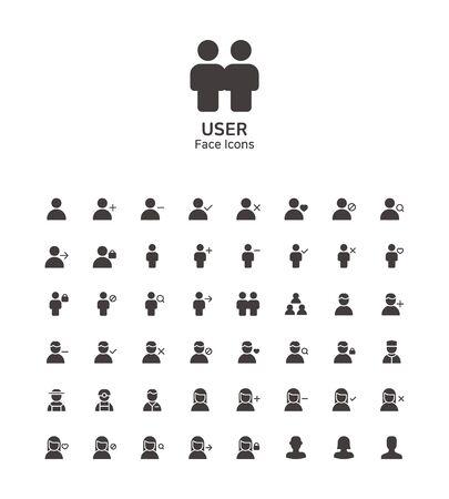 Icônes modernes de conception plate de ligne mince définies pour la conception de sites Web et d'applications 085