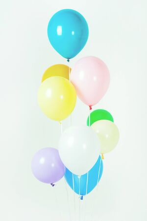 Colorful balloons bacground 007