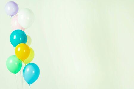 Colorful balloons bacground 062