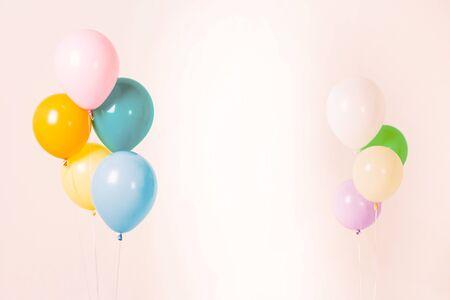 Colorful balloons bacground 043