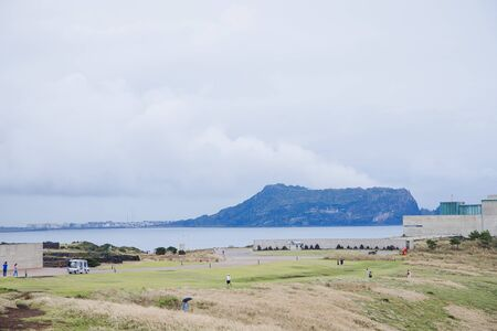 Beautiful island landscape of Jeju, Korea