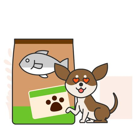 Cute and lovely animals, pets icon illustration 008