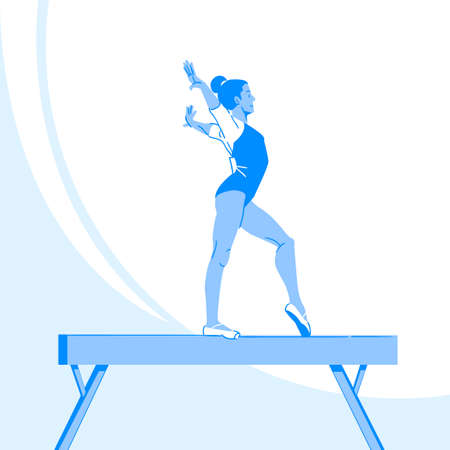 Sports Athletes silhouette illustration 037