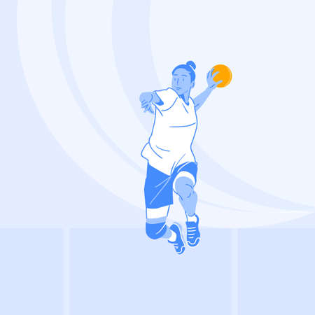 Sports Athletes silhouette illustration 051