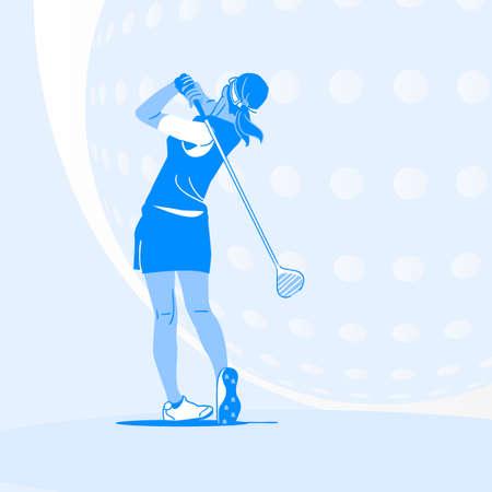 Sports Athletes silhouette illustration 041  イラスト・ベクター素材