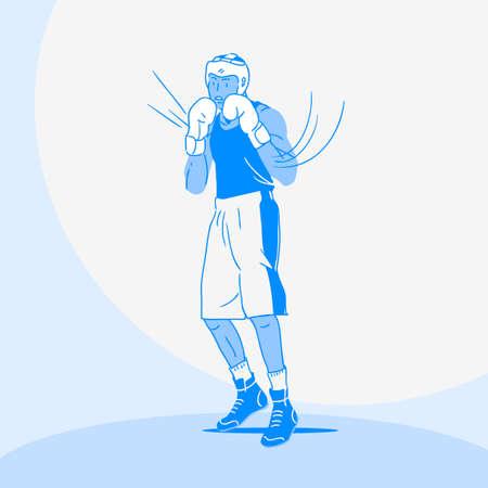 Sports Athletes silhouette illustration 030