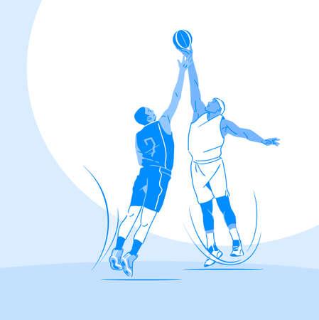 Sports Athletes silhouette illustration 023