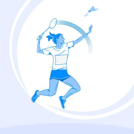 Sports Athletes silhouette illustration 019  イラスト・ベクター素材