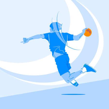Sports Athletes silhouette illustration 050