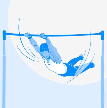 Sports Athletes silhouette illustration 035