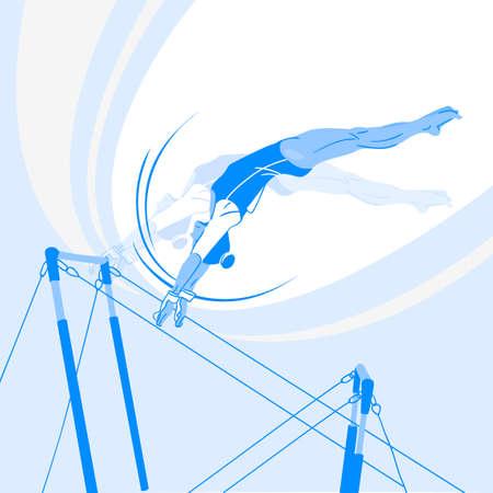 Sports Athletes silhouette illustration 039