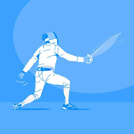 Sports Athletes silhouette illustration 047  イラスト・ベクター素材