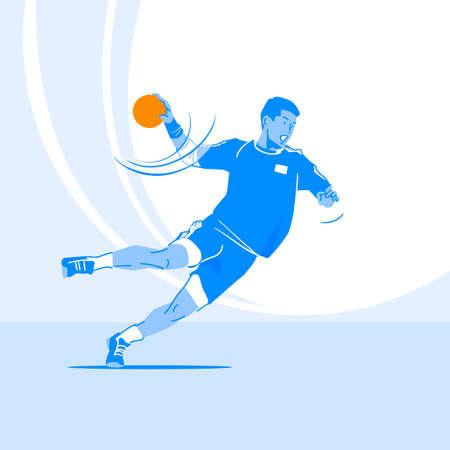 Sports Athletes silhouette illustration 048