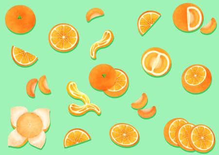 Fresh fruits background illustration Kho ảnh