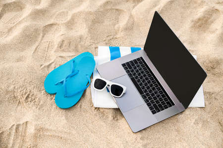 Summer holiday concept, Summer beach accessories 042 Banque d'images