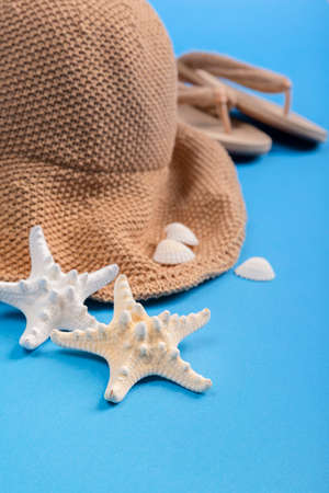 Summer holiday concept, Summer beach accessories 077 Banque d'images